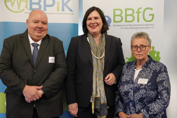 Detlef Schliffke, Prof. Dr. Claudia Schmidtke, Ingrid Fuchs