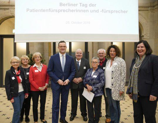 """BPiK tauscht sich auf dem """"Berliner Tag der Patientenfürsprecher"""" über aktuelle Themen der Patientenfürsprache aus"""