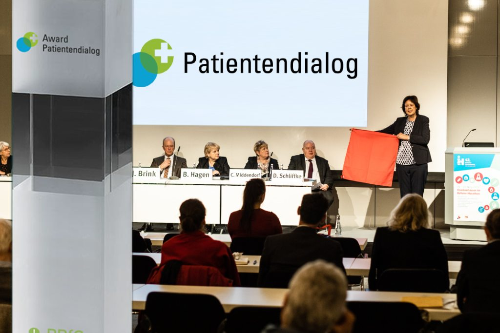 Startschuss für den Award Patientendialog 2020: